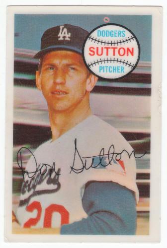 1970 Kelloggs Baseball Card Don Sutton For Sale