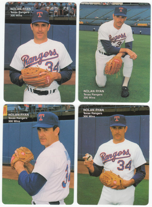 1991 Mothers Cookies Nolan Ryan Baseball Cards For Sale